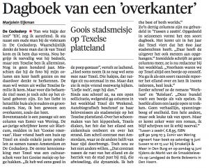 Interview in Noordhollands Dagblad